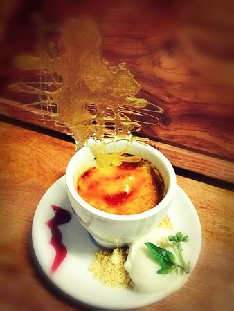 Aliwal North, South Africa: creme brule