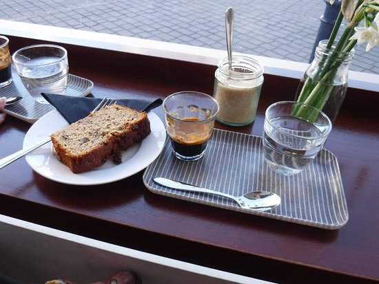 Espresso and banana cake picture of blueprint coffee whitstable blueprint coffee espresso and banana cake malvernweather Choice Image