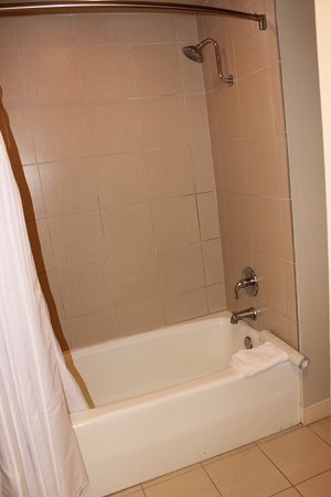 Wyndham Royal Sea Cliff: Tub Shower are in Master Bed Rm