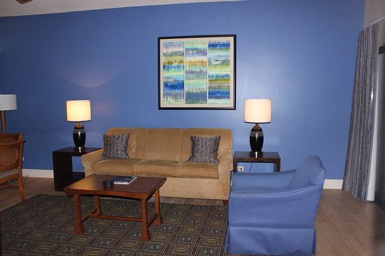 Wyndham Royal Sea Cliff: Living room