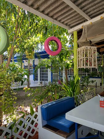 Las Palapas restaurante y hotel de punta allen: The owners B&B next door