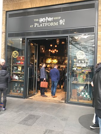 Photo of Tourist Attraction Harry Potter Shop at Platform 9 3/4 at Harry Potter Shop At Platform 9 3/4 Euston Road, London NW1 2SA, United Kingdom