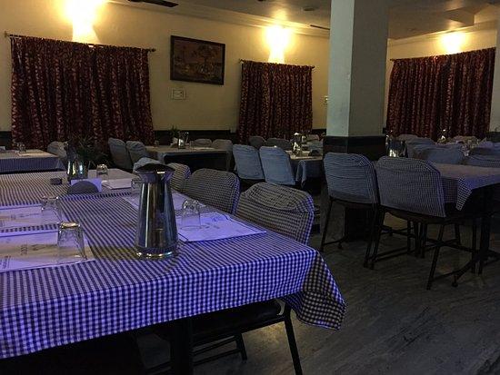 dining area @ Annapurna Hotel