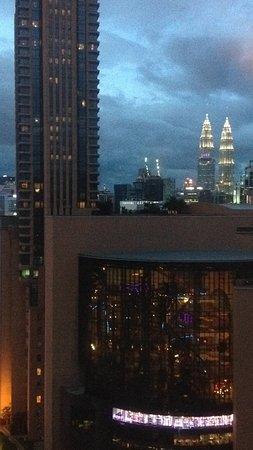 Furama Bukit Bintang: vista desde el Executive Lounge