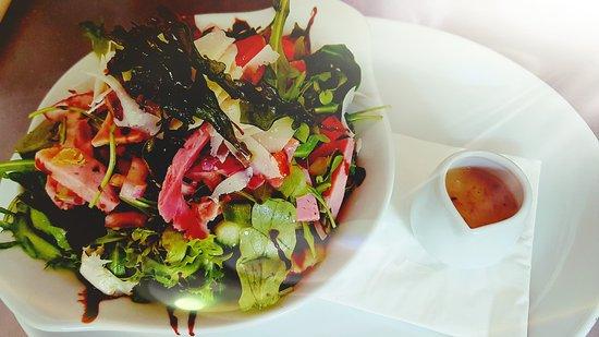 Gillingham, UK: Italian salad #springtime