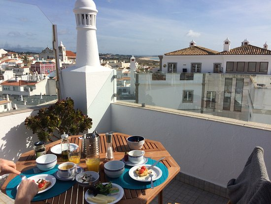 Delicious breakfast on the rooftop picture of 3 marias for Carlos house lagos