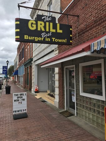 Hawkinsville, Geórgia: Believe the sign.