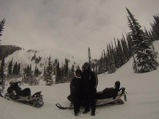 Golden, Canada: Top of the mountain! Winter Wonderland
