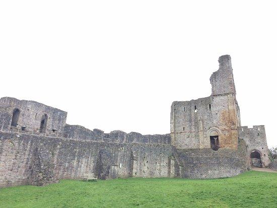 Chepstow castle inside
