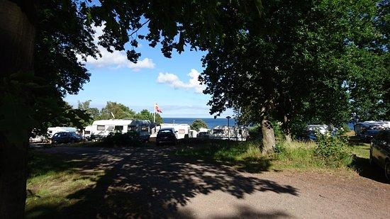 Svaneke, Denmark: Ankomst til Hullehavn