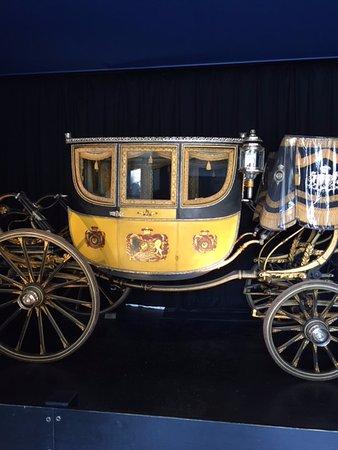 Alnwick, UK: Carriage on display