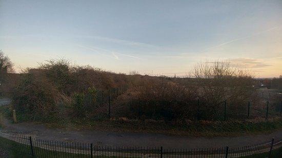 "Skelmersdale, UK: The ""Garden"" view......"