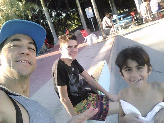 Parque Acuatico Agua Caliente: Para chicos y no tan chicos.