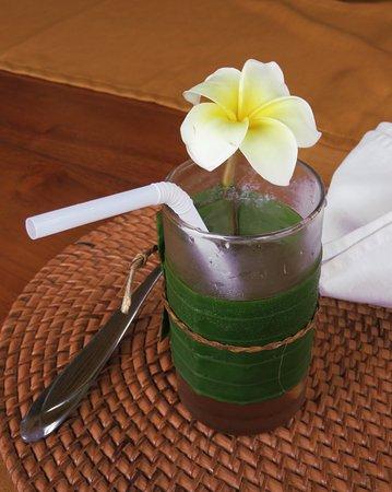 Ketut's Bali Cooking Class: great herbal tea!