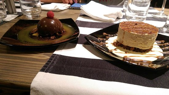 Desert - the best course of the meal!