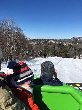 Piedmont, Canada: Sur la piste, en raft