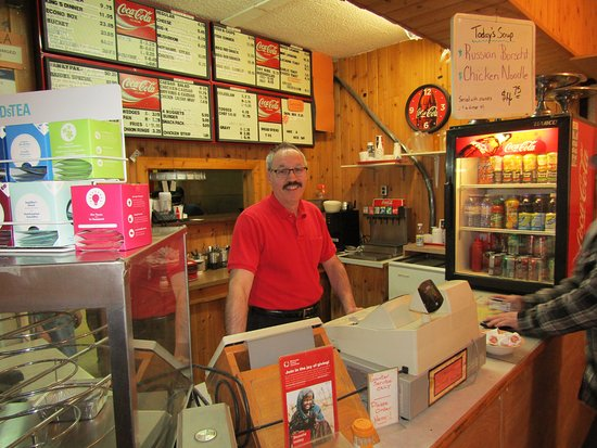Rosthern, Canada: Leonard, Owner of Kings Chicken