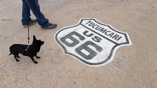 Тукумкари, Нью-Мексико: Get your kicks...