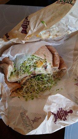 Milpitas, CA: Natural High: 채소 샌드위치