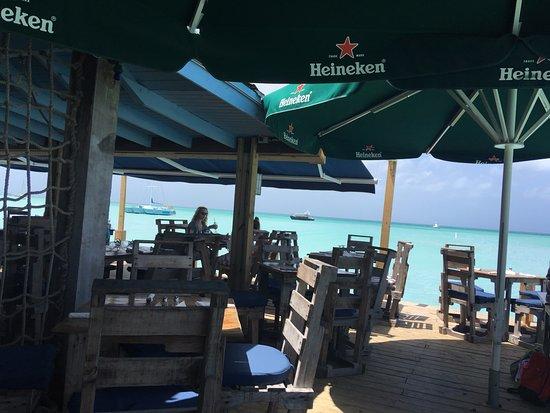 indoor outdoor dining all open to water picture of pelican nest rh tripadvisor com