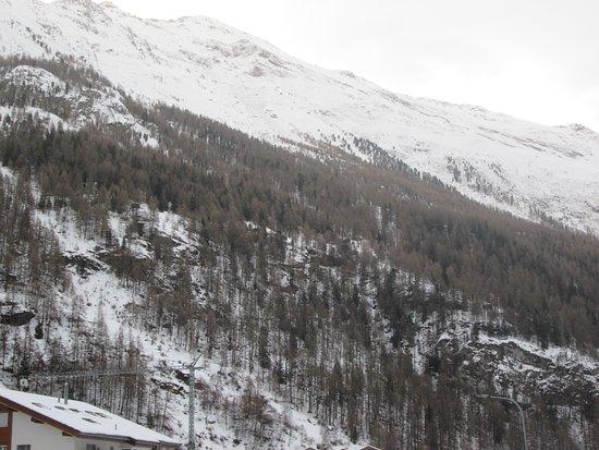 Täsch, Zwitserland: View from my window