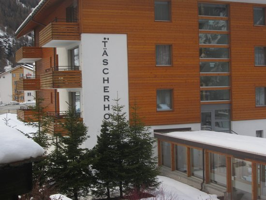 Täsch, Zwitserland: The new hotel