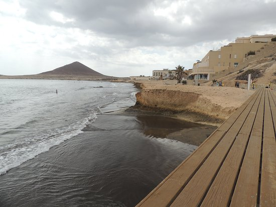 El Medano, إسبانيا: Boardwalk