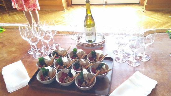 Jordan Vineyard & Winery: chardonnay course