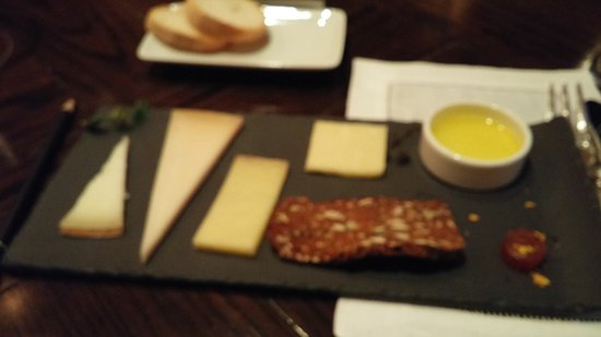 Jordan Vineyard & Winery: cheese and meat platter