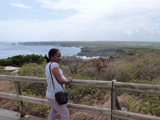 Anse-Bertrand, Guadeloupe: petit sentier balisé