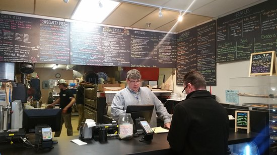 Essex, VT: Menu counter