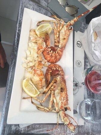 Ittica E Gastronomia Gattuso & Bianchi: Aragosta dello chef Licata
