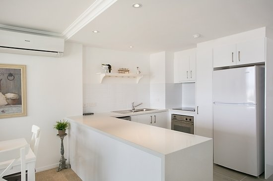One The Esplanade: Kitchen of a superior one bedroom apartment