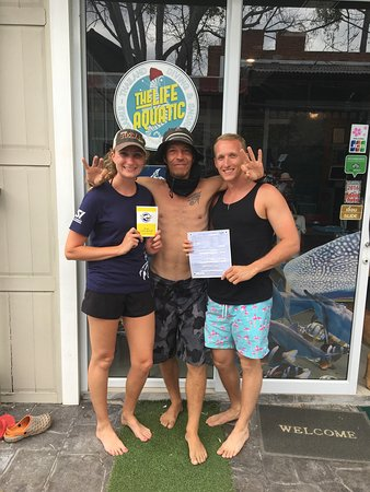 Mae Nam, Thailand: Had a stellar time learning to dive with Armin!