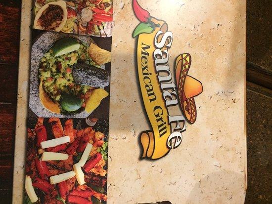 Santa Fe Restaurant Menu Greensboro Nc