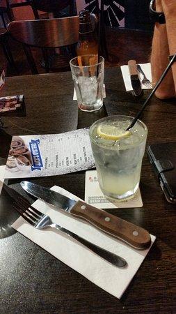 Glenelg, Australia: Out back Jacks Lemon drink
