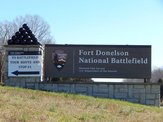 Fort Donelson National Battlefield Main Park Entrance