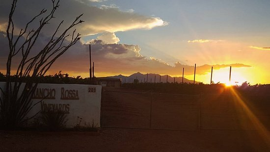 Elgin, AZ: Rancho Rossa by Sunset