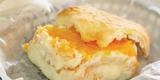 Cheese Biscuit - Picture of Sunrise Biscuit Kitchen, Louisburg ...