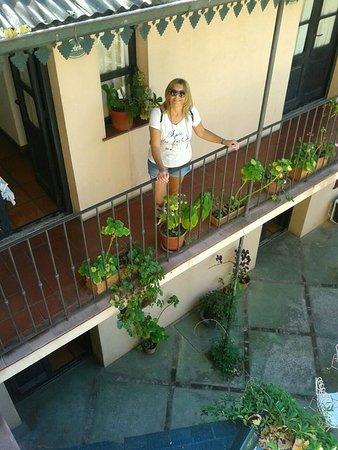 Posada de la Flor: vista del patio!!