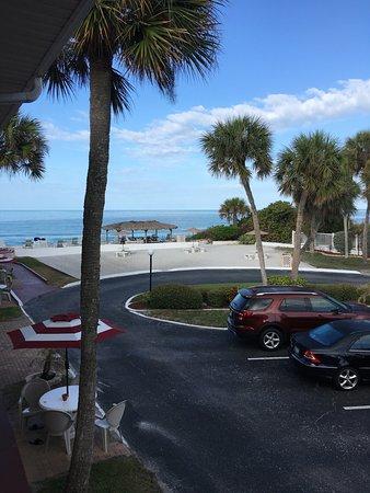 Gulf Beach Resort Motel: Balcony view of 313