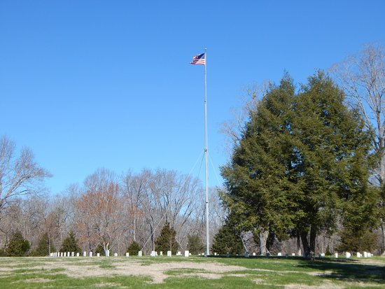 Dover, TN: main burial area