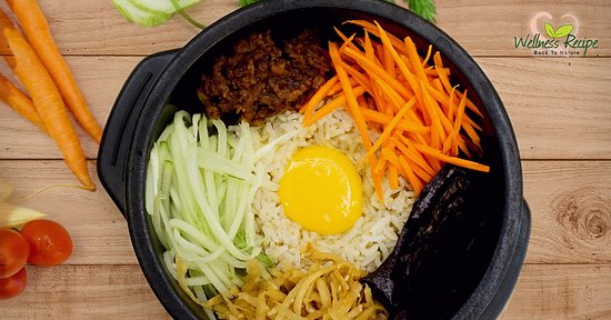 Wellness Recipe: Korean Bibimbap -  Chef recommended