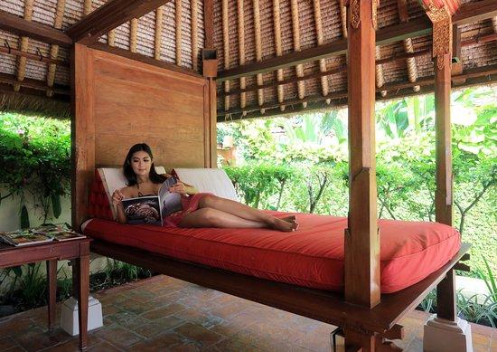 The Pavilions Bali: Bale at Main pool