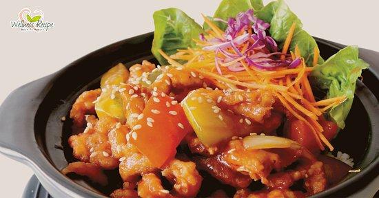 Wellness Recipe: Sweet & Sour Chicken Rice