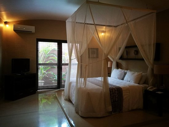 The Dusun: One of the massive bedrooms - it's 3 bedroom villa!