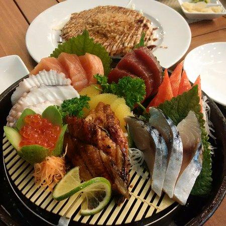 Tokyo Deli : Combo sashimi