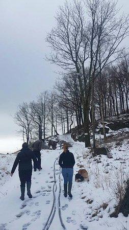 Mandal, Noruega: subindo