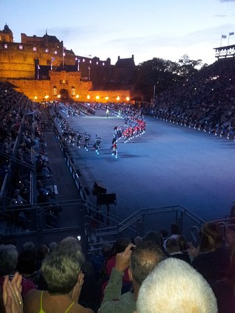 The Royal Edinburgh Military Tattoo: The beginning of a great spectacle