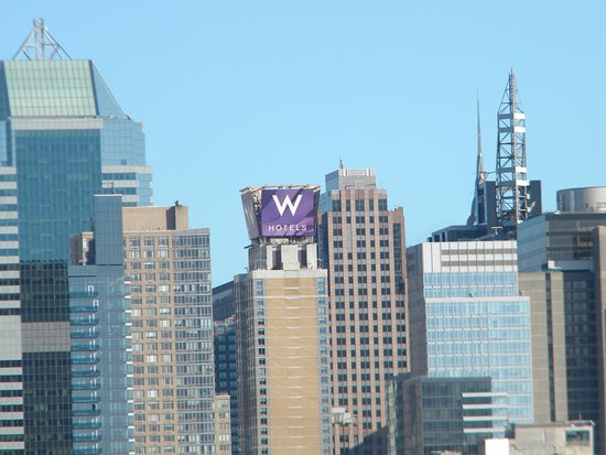 View Of The W Hotel From The Hudson River Picture Of W New York